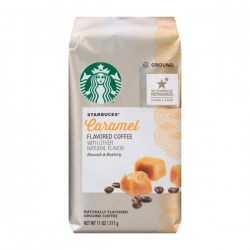 Купить Starbucks Caramel Flavored Coffee Natural Flavor Smooth & Buttery Киев, Украина