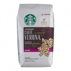 Купить Starbucks Dark Caffe Verona Ground Coffee Киев, Украина