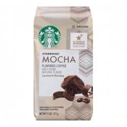 Купить Starbucks Mocha Flavored Coffee Natural Flavor Luscious & Chocolaty Киев, Украина
