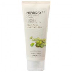 Купить The Face Shop Herb Day 365 Cleansing Foam Mung Bean Киев, Украина