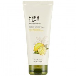 Купить The Face Shop Herb Day 365 Master Blending Foaming Cleanser Lemon Grapefruit Киев, Украина