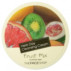 Купить The Face Shop Herb Day Cleansing Cream Fruit Mix Киев, Украина