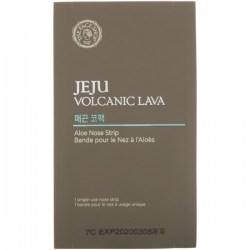 Купить The Face Shop Jeju Volcanic Lava Aloe Nose Strip Киев, Украина