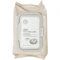 Купить The Face Shop Jeju Volcanic Lava Pore Cleansing Wipes Киев, Украина