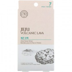 Отзывы полоски для носа The Face Shop Jeju Volcanic Lava Aloe Nose Strip