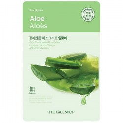 Купить The Face Shop Real Nature Mask Sheet Aloe Киев, Украина