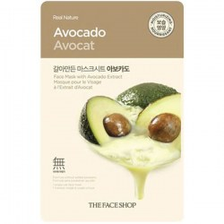 Купить The Face Shop Real Nature Mask Sheet Avocado Киев, Украина