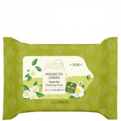 Купить The Saem Healing Tea Garden Green Tea Cleansing Tissue Киев, Украина
