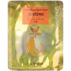 Купить The Saem Pure Natural Mask Sheet Ginseng Киев, Украина