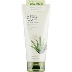 Купить The Face Shop Herb Day 365 Cleansing Foam Aloe Киев, Украина