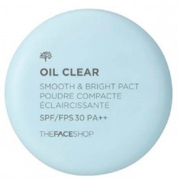 Купить The Face Shop Oil Clear Smooth & Bright Pact SPF30 PA++ Киев, Украина