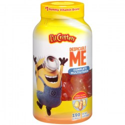 Купить Vitafusion Lil Critters Despicable Me Minion Made Complete Multivitamin Gummies Киев, Укриана
