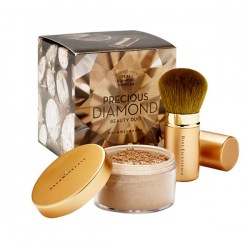 Купить bareMinerals Precious Diamond Face and Body Minerals & Retractable Kabuki Brush Киев, Украина