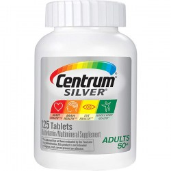 Купить Centrum Silver Adults 50+ Multivitamin 125 pcs Киев, Украина