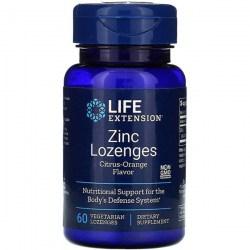 Купить Life Extension Linc Lozenges Citrus-Orange Flavor 18.75 mg Киев, Украина