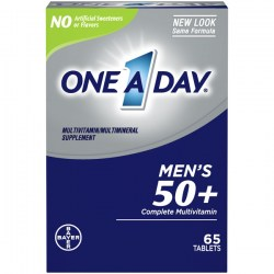 Купить One A Day Men's 50+ Healthy Advantage Multivitamin 65 pcs Киев, Украина