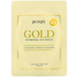 Купить Petitfee Gold Hydrogel Eye Patch +5 Golden Complex 2 pcs Киев, Украина