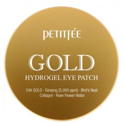 Купить Petitfee Gold Hydrogel Eye Patch +5 Golden Complex 60 pcs Киев, Украина