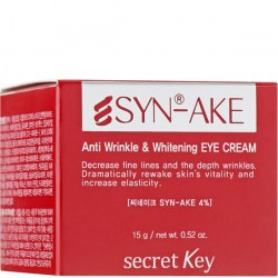 Купить крем для глаз Secret Key Syn-Ake Anti Wrinkle Whitening Eye Cream